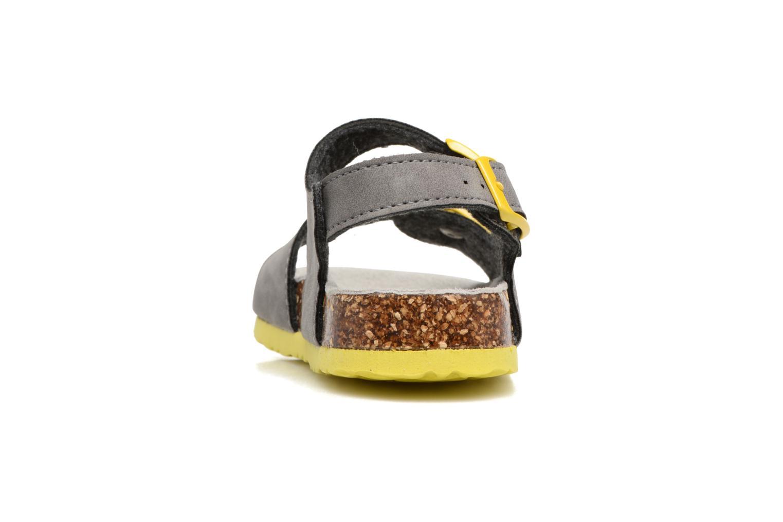 Sandalen Colors of California Bio Matt sandal grau ansicht von rechts