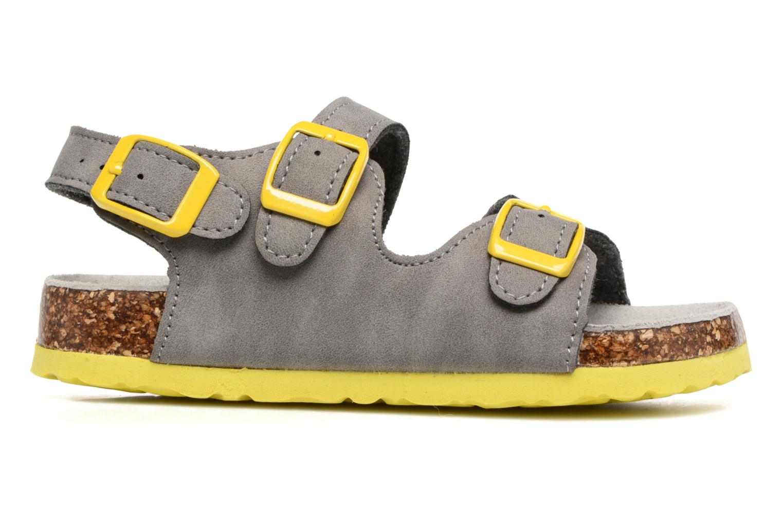Sandalen Colors of California Bio Matt sandal grau ansicht von hinten