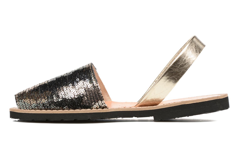 Sandals MINORQUINES Avarca Green front view