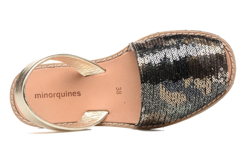 Sandales et nu-pieds MINORQUINES Avarca Vert vue gauche