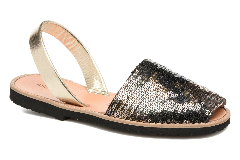 Sandales et nu-pieds MINORQUINES Avarca Vert vue détail/paire