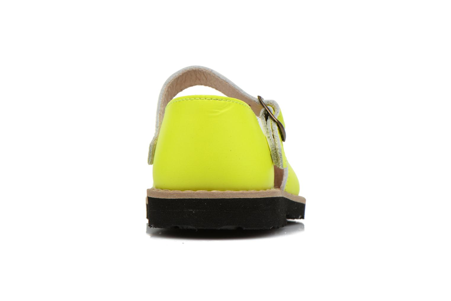 Sandals MINORQUINES Frailera Yellow view from the right