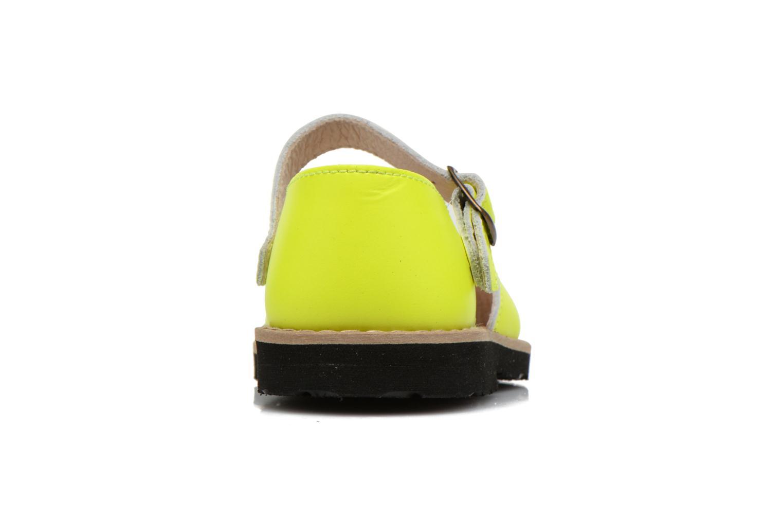 Sandaler MINORQUINES Frailera Gul Bild från höger sidan