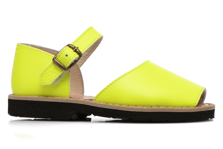 Sandalen MINORQUINES Frailera gelb ansicht von hinten