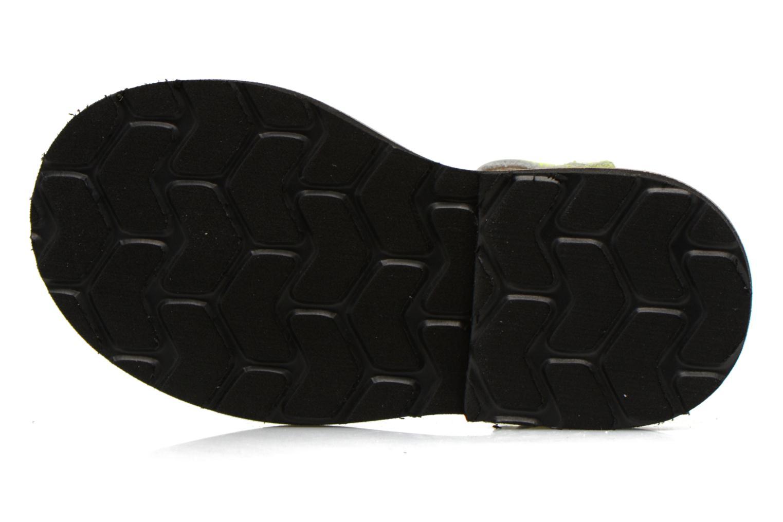 Sandales et nu-pieds MINORQUINES Frailera Jaune vue haut