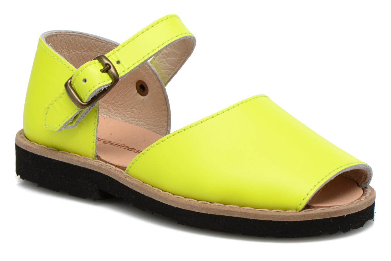 Sandalen MINORQUINES Frailera gelb detaillierte ansicht/modell