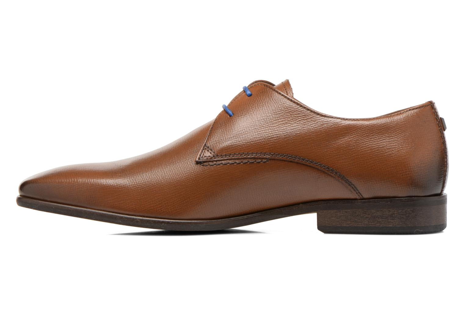 Lace-up shoes Azzaro Jurico Brown front view