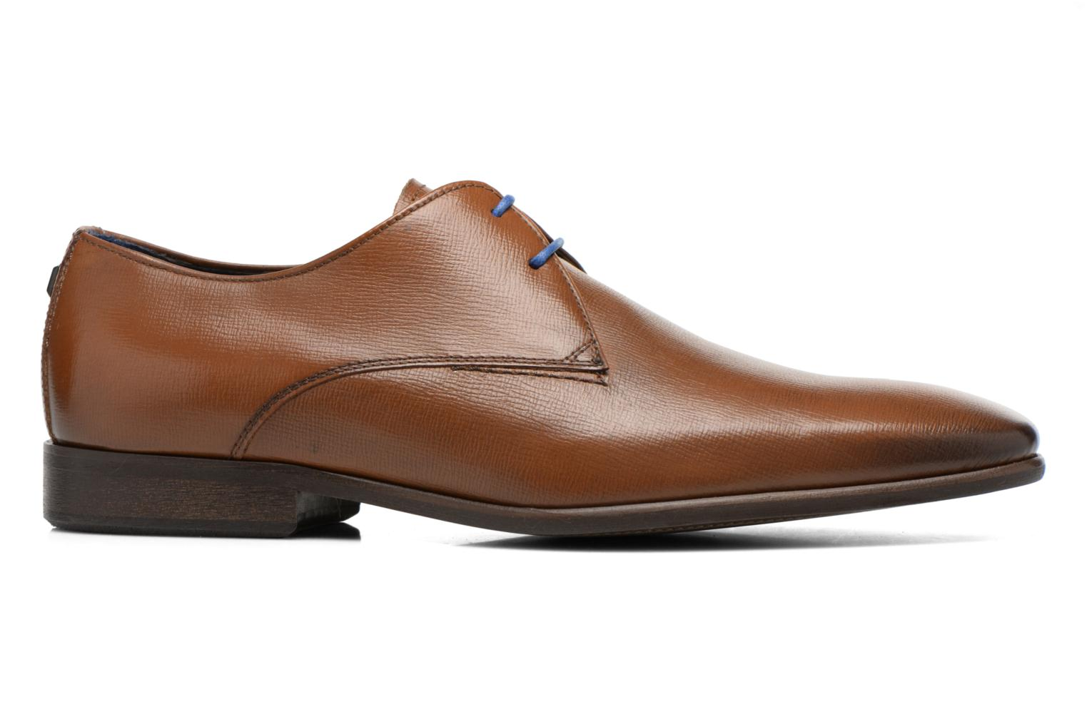 Lace-up shoes Azzaro Jurico Brown back view