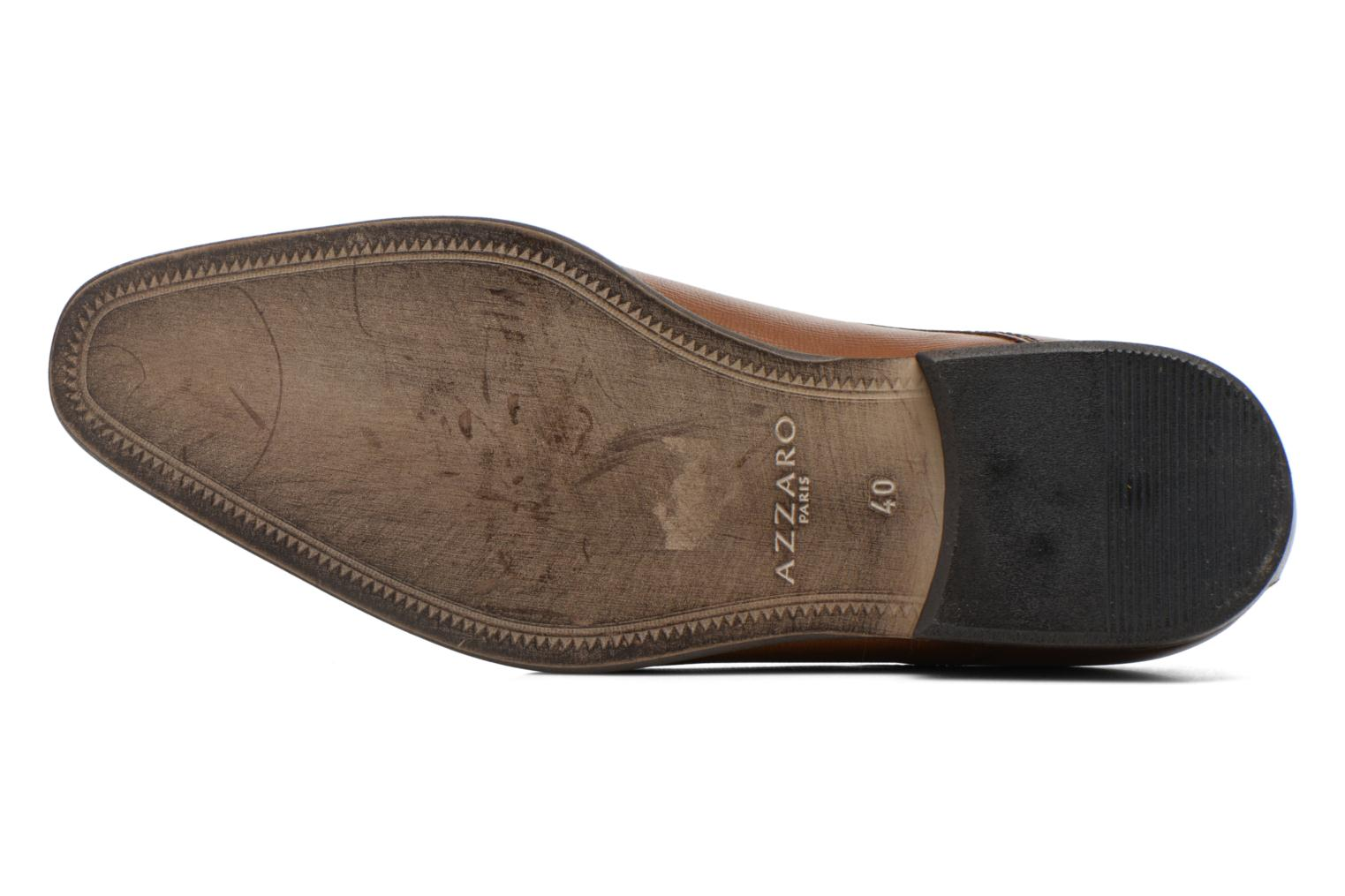 Lace-up shoes Azzaro Jurico Brown view from above