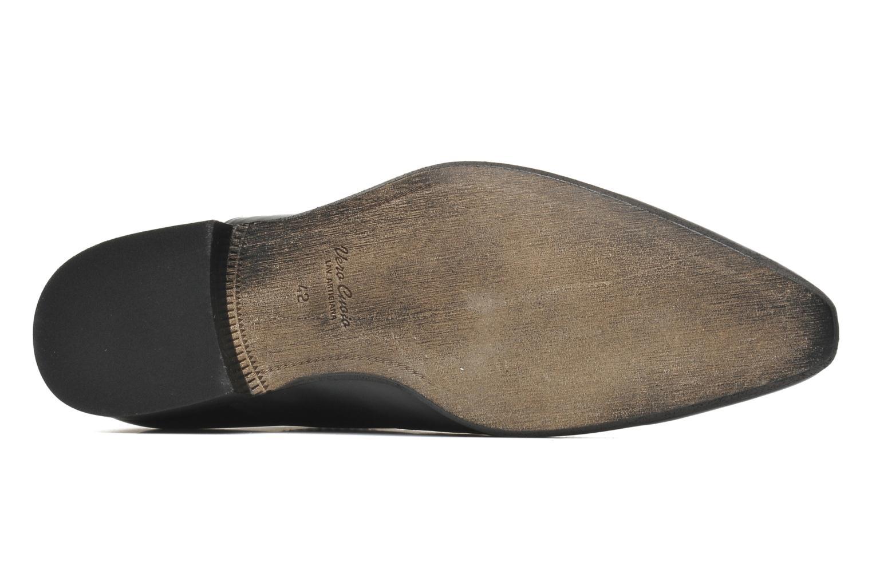 Chaussures à lacets Azzaro Chamy Noir vue haut