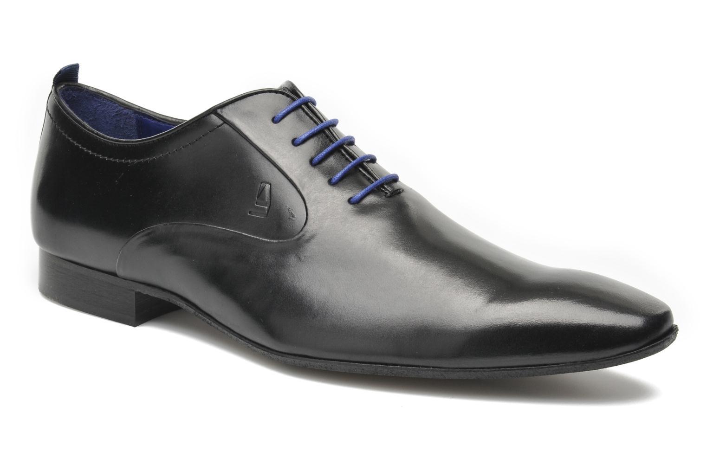 Chaussures à lacets Azzaro Chamy Noir vue détail/paire
