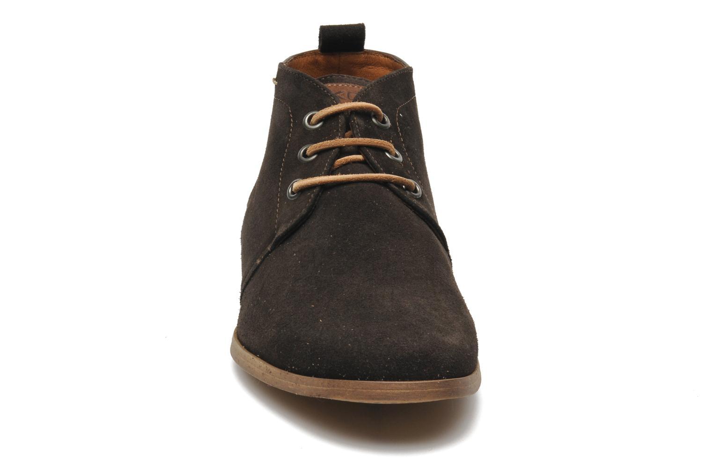 Chaussures à lacets Kost Zepee Marron vue portées chaussures