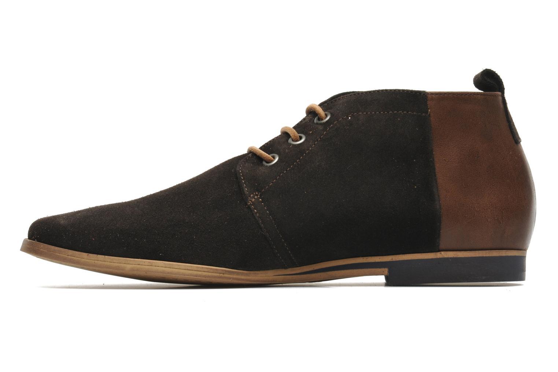 Chaussures à lacets Kost Zepee Marron vue face