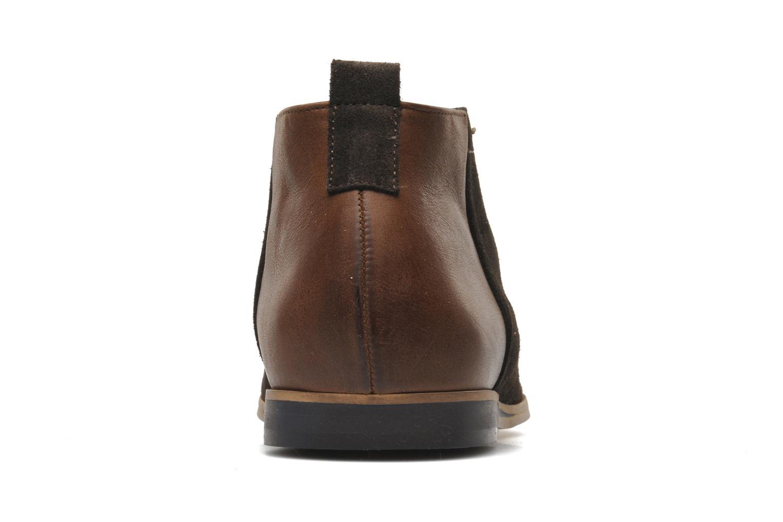 Chaussures à lacets Kost Zepee Marron vue droite