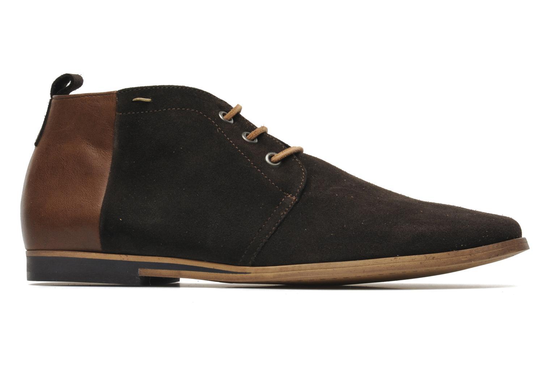 Chaussures à lacets Kost Zepee Marron vue derrière