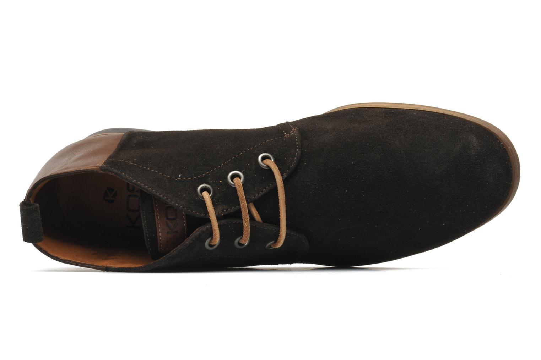 Chaussures à lacets Kost Zepee Marron vue gauche