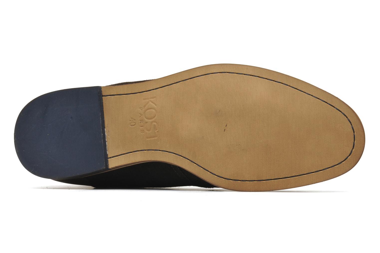 Chaussures à lacets Kost Zepee Marron vue haut