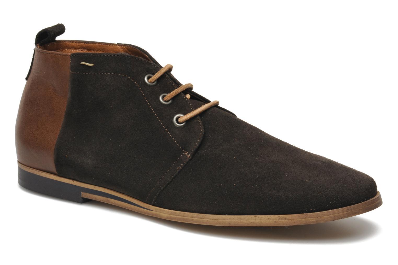 Chaussures à lacets Kost Zepee Marron vue détail/paire