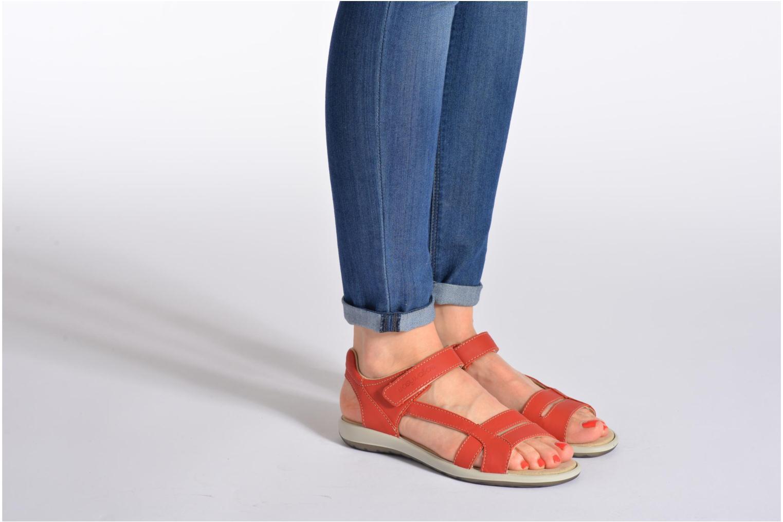Sandales et nu-pieds TBS Easy Walk Hamacs Beige vue bas / vue portée sac