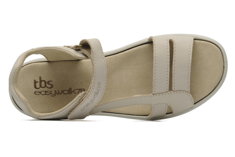 Sandales et nu-pieds TBS Easy Walk Hamacs Beige vue gauche