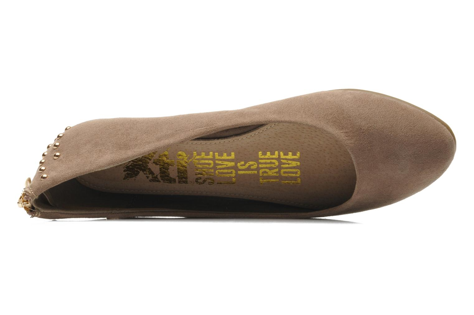 Ballet pumps Xti Arla-26881 Beige view from the left