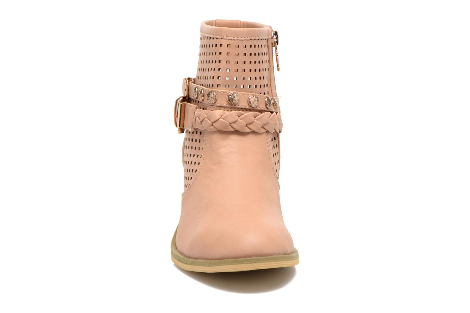 Ankle boots Xti Gala-27651 Pink model view