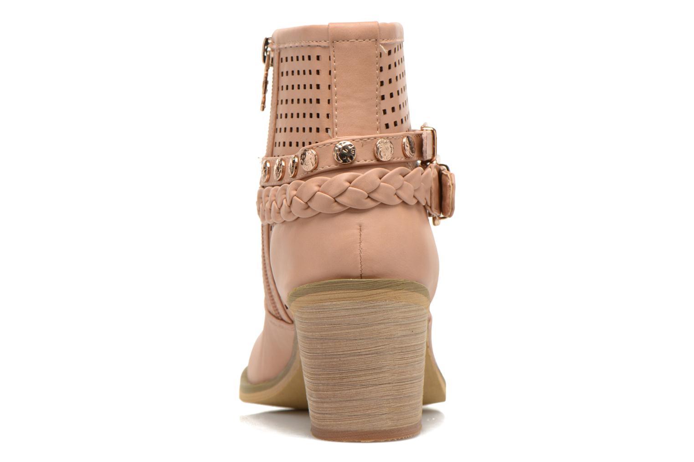 Boots en enkellaarsjes Xti Gala-27651 Roze rechts