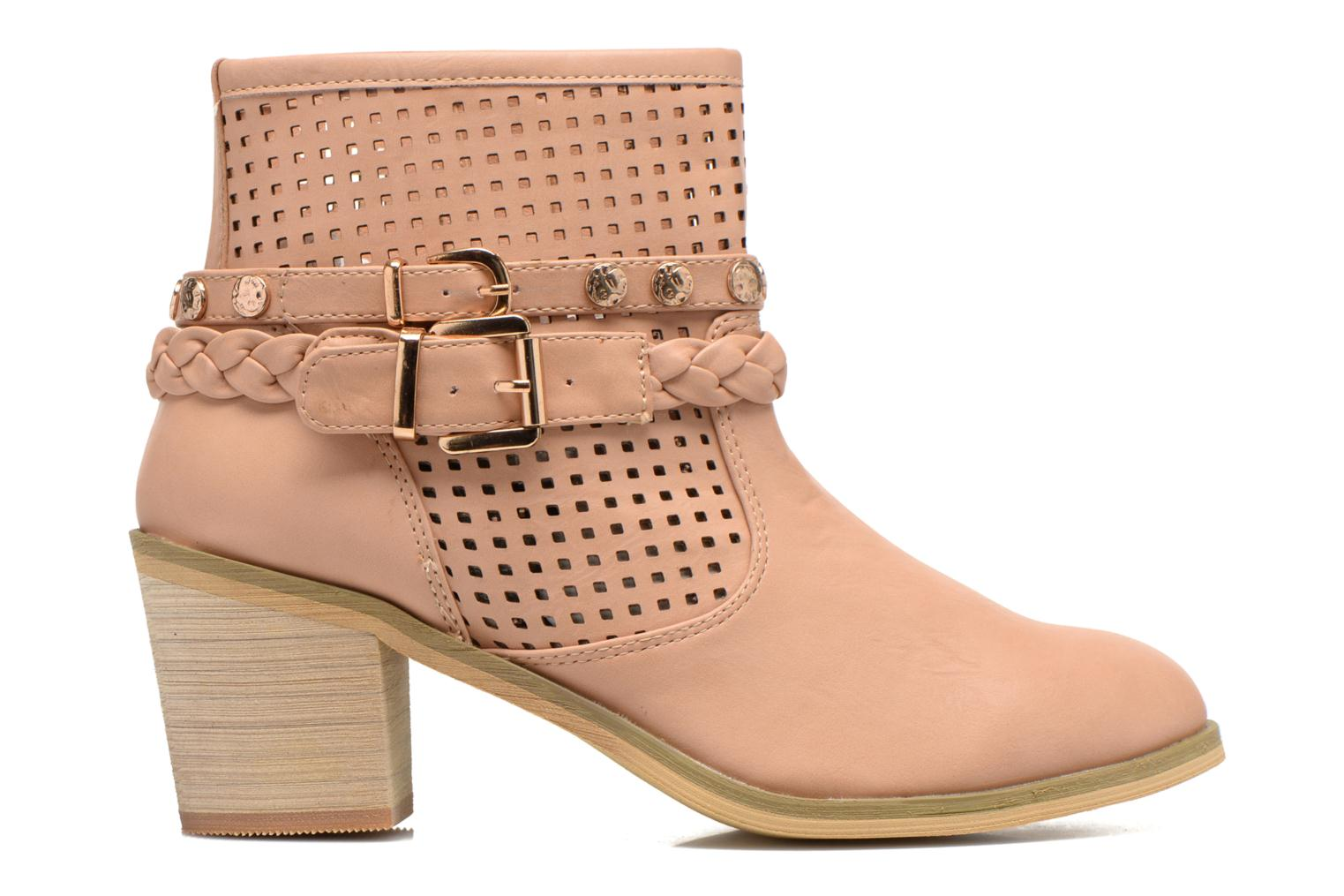 Ankle boots Xti Gala-27651 Pink back view