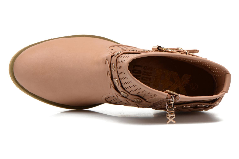 Boots en enkellaarsjes Xti Gala-27651 Roze links
