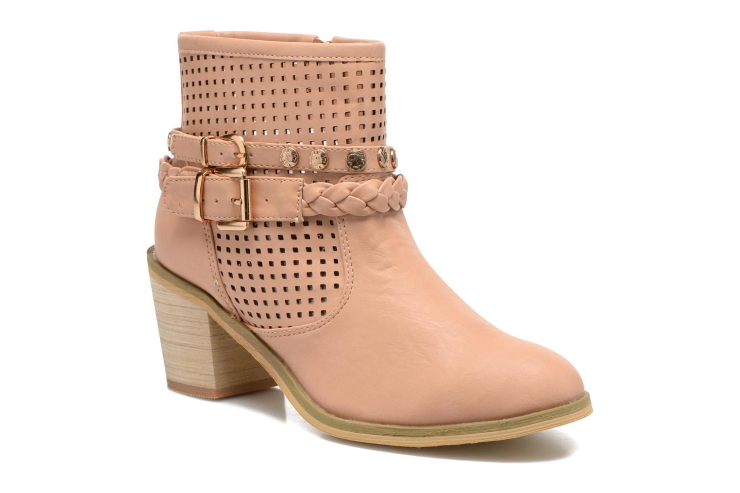Ankle boots Xti Gala-27651 Pink detailed view/ Pair view