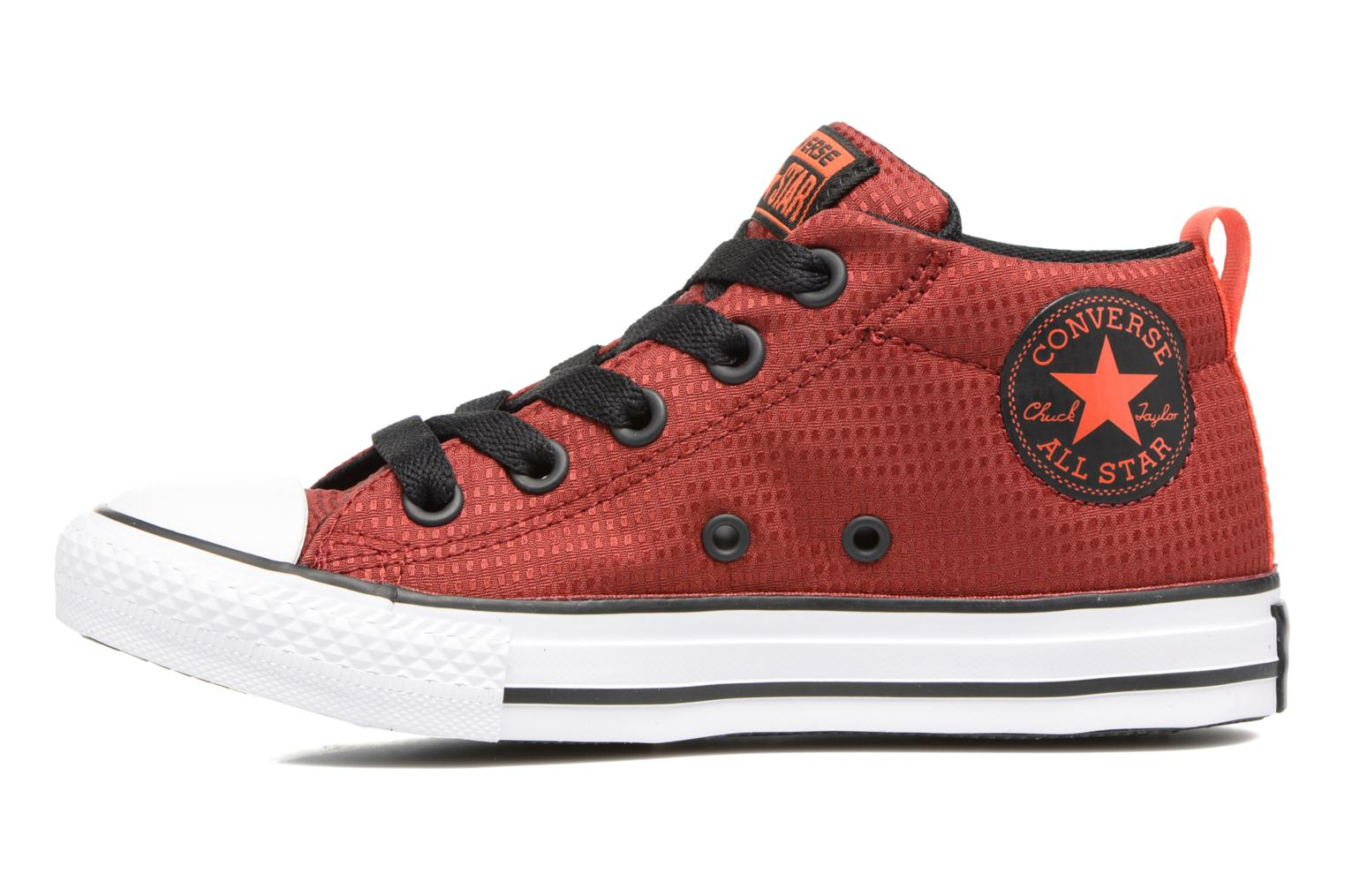 Chuck Taylor All Star Street Mid Red Block/Black/White