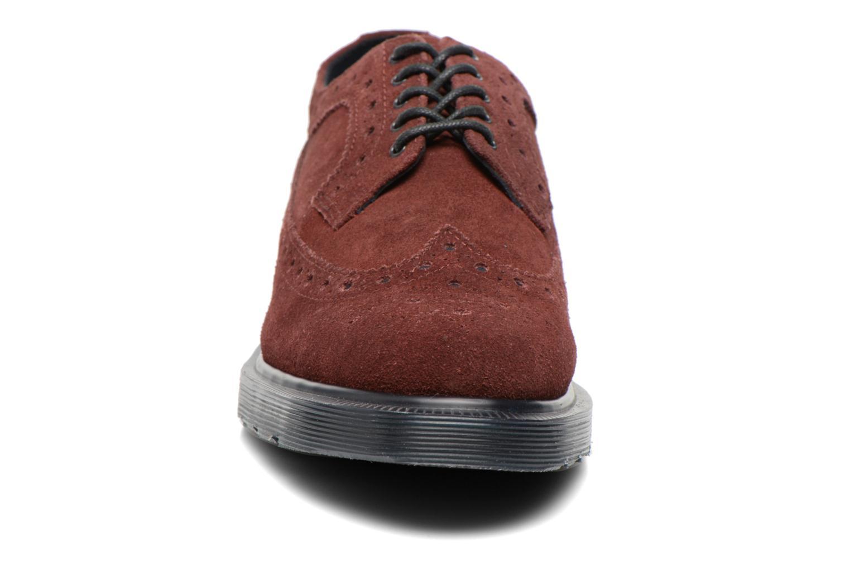 Chaussures à lacets Dr. Martens 3990 Bordeaux vue portées chaussures