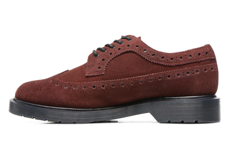 Chaussures à lacets Dr. Martens 3990 Bordeaux vue face