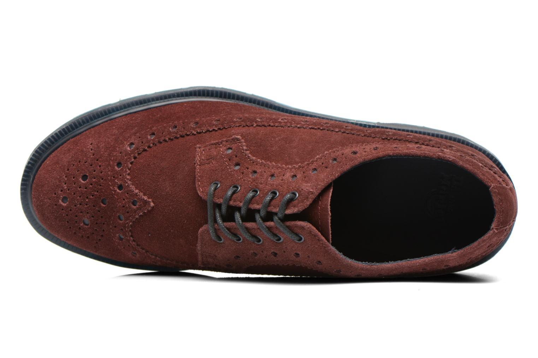 Chaussures à lacets Dr. Martens 3990 Bordeaux vue gauche