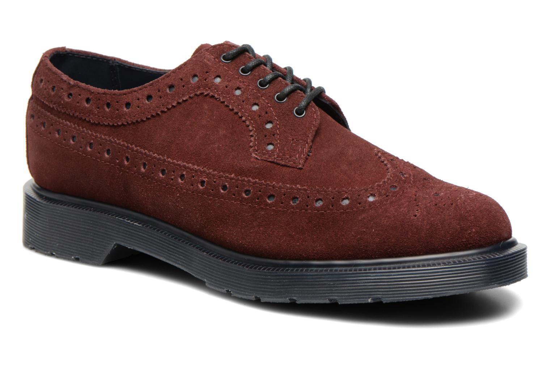 Chaussures à lacets Dr. Martens 3990 Bordeaux vue détail/paire
