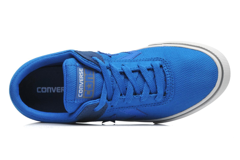 Deportivas Converse AERO S CVS Ox Azul vista lateral izquierda