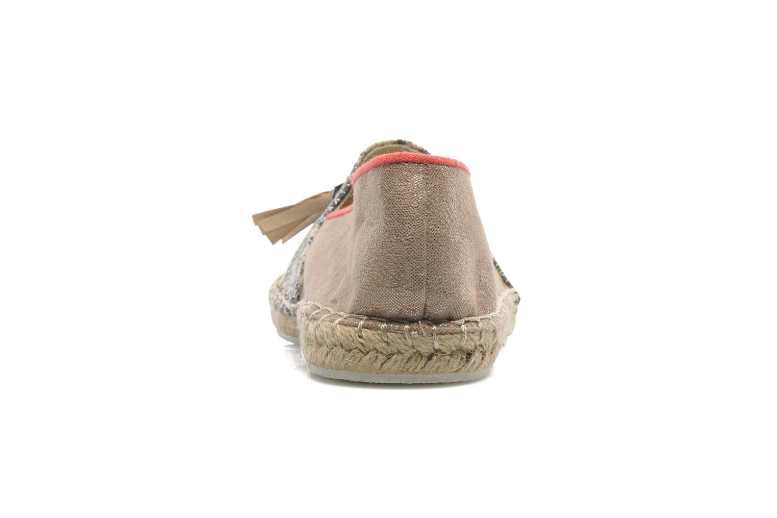 Espadrilles La Strada Becca Beige view from the right