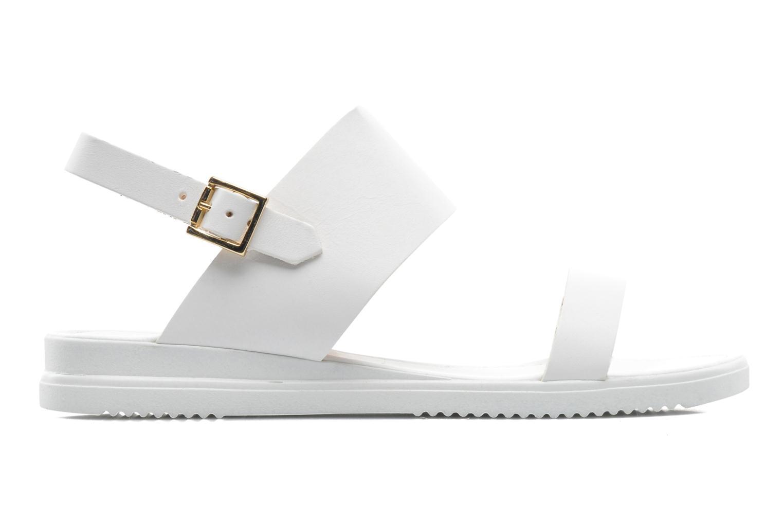 Sandales et nu-pieds Georgia Rose Jofou Blanc vue derrière
