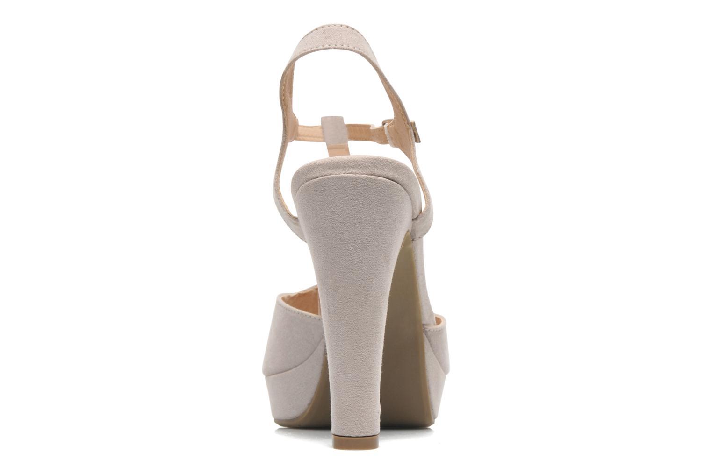 Sandales et nu-pieds Refresh Max-60514 Beige vue droite