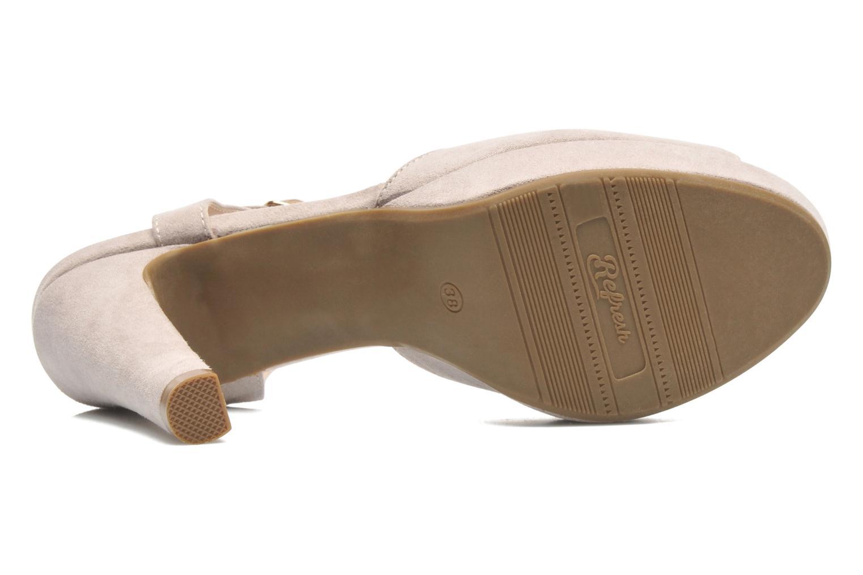 Sandales et nu-pieds Refresh Max-60514 Beige vue haut