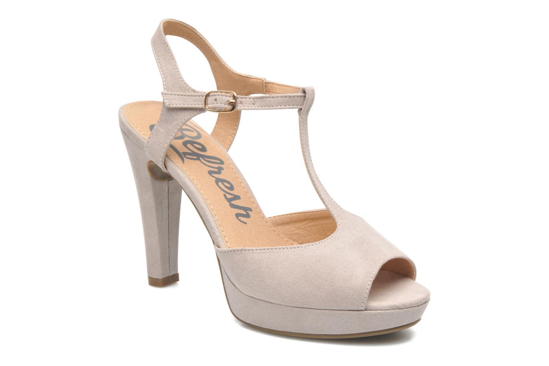 Sandales et nu-pieds Refresh Max-60514 Beige vue détail/paire