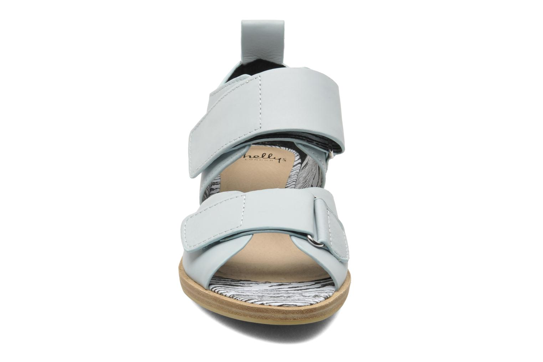 Sandales et nu-pieds Shellys London Janko Bleu vue portées chaussures