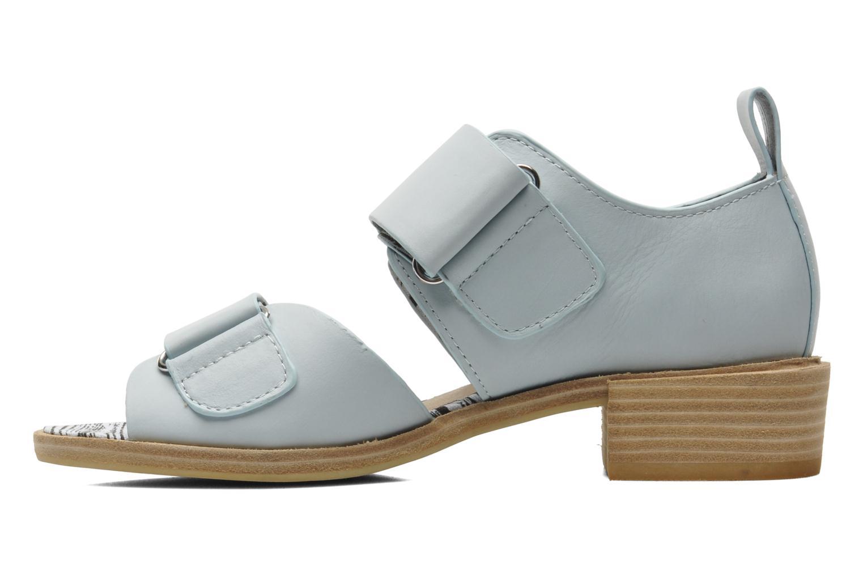 Sandales et nu-pieds Shellys London Janko Bleu vue face