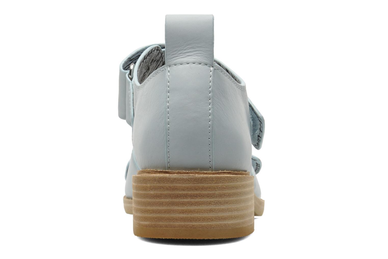 Sandales et nu-pieds Shellys London Janko Bleu vue droite