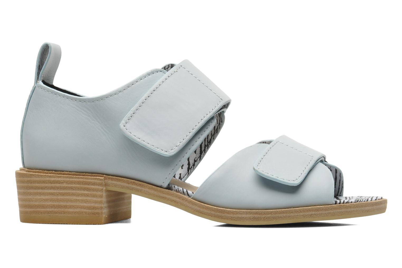 Sandales et nu-pieds Shellys London Janko Bleu vue derrière