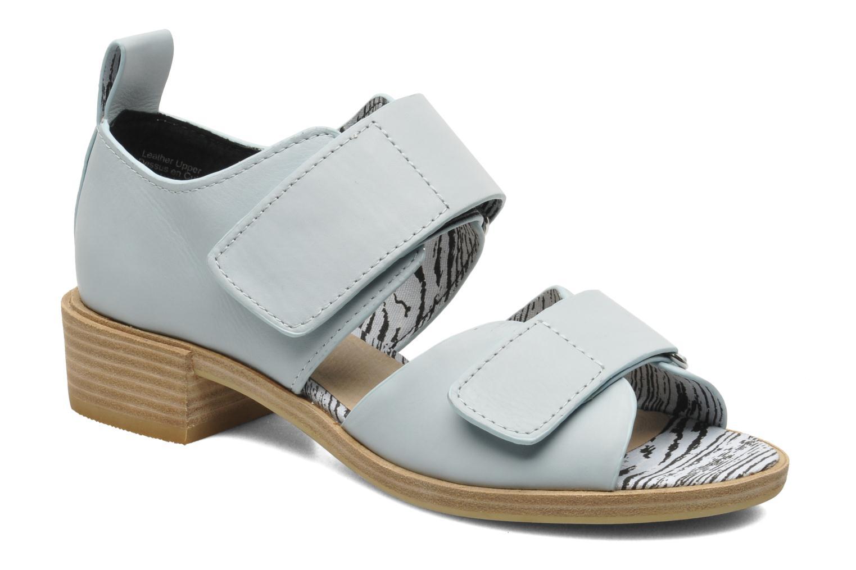 Sandales et nu-pieds Shellys London Janko Bleu vue détail/paire