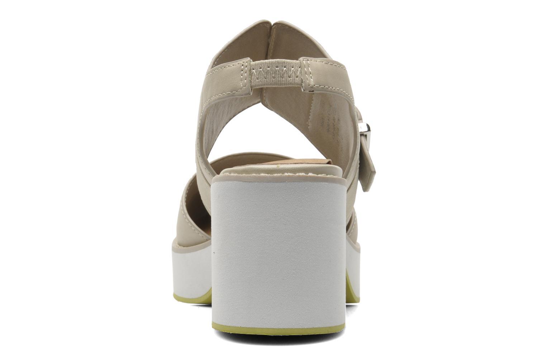 Sandales et nu-pieds Shellys London Costain Beige vue droite