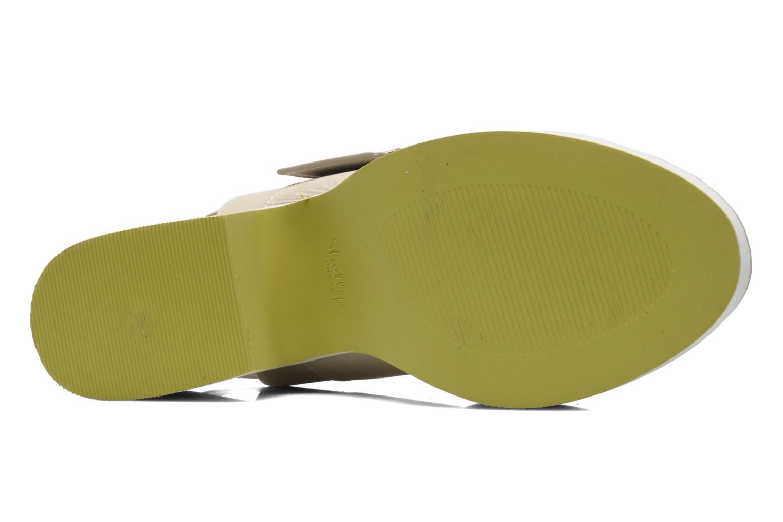 Sandales et nu-pieds Shellys London Costain Beige vue haut