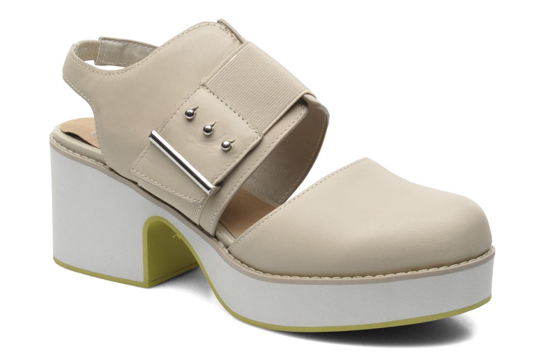Sandales et nu-pieds Shellys London Costain Beige vue détail/paire