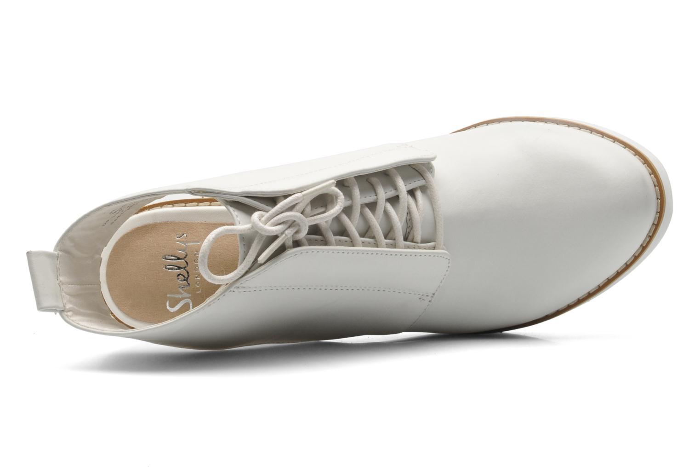 Bottines et boots Shellys London Michellton Blanc vue gauche